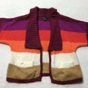 Gap Kids Penelope Stripe Dolman Sweater Cardigan